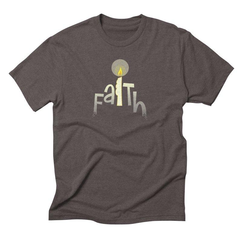 Faith Men's Triblend T-Shirt by PickaCS's Artist Shop