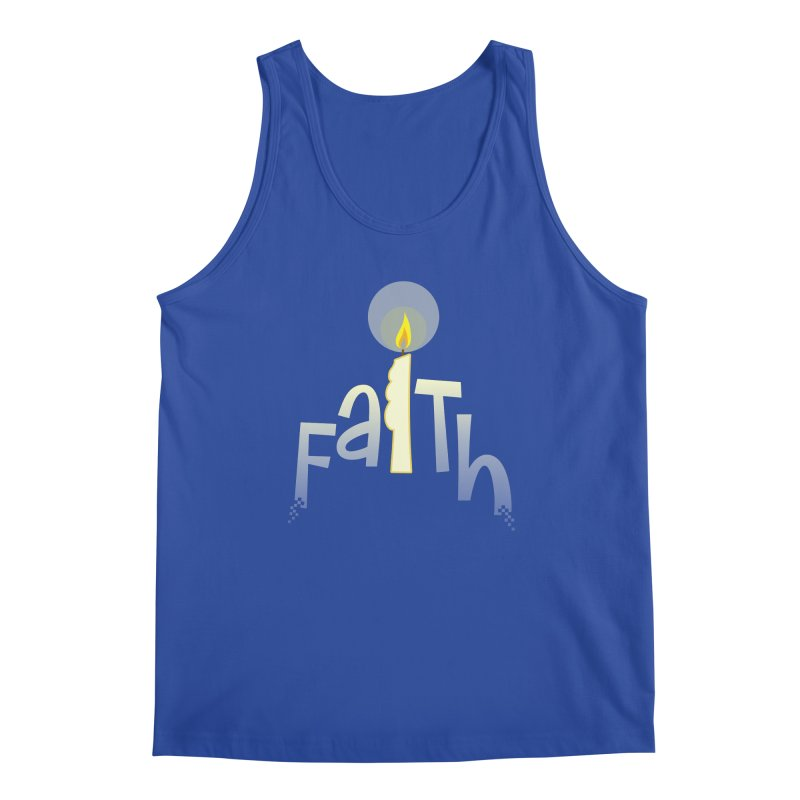 Faith Men's Tank by PickaCS's Artist Shop
