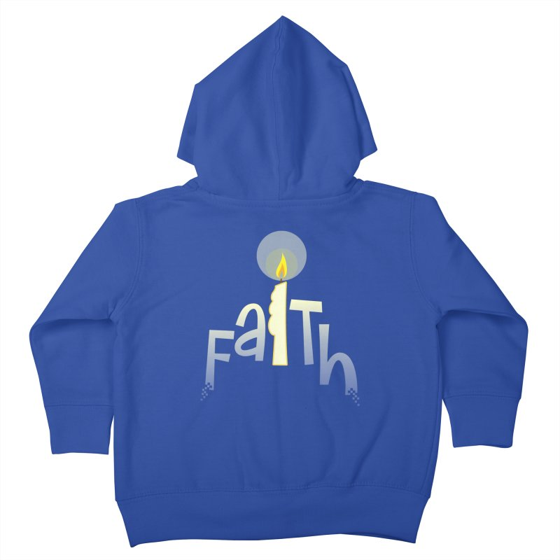 Faith Kids Toddler Zip-Up Hoody by PickaCS's Artist Shop