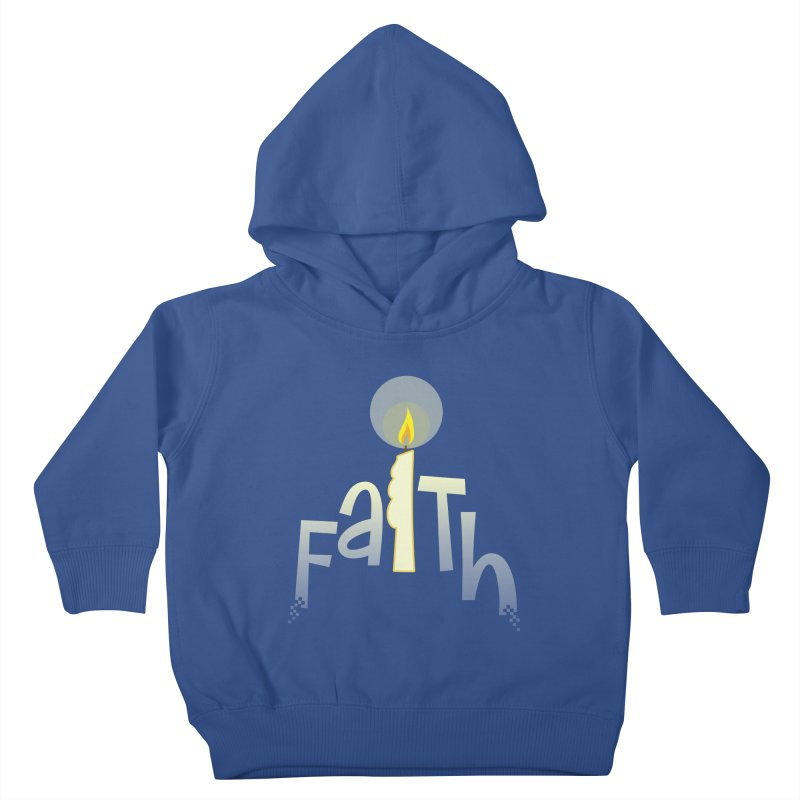 Faith Kids Toddler Pullover Hoody by PickaCS's Artist Shop