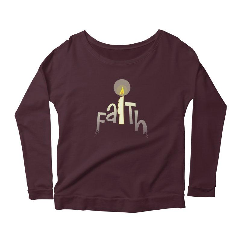 Faith Women's Scoop Neck Longsleeve T-Shirt by PickaCS's Artist Shop