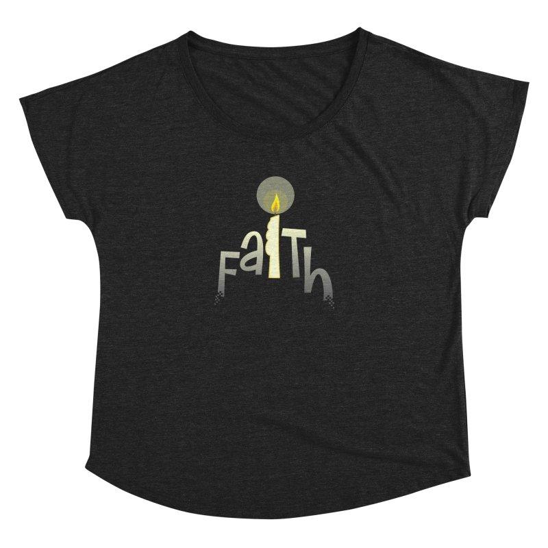 Faith Women's Dolman Scoop Neck by PickaCS's Artist Shop