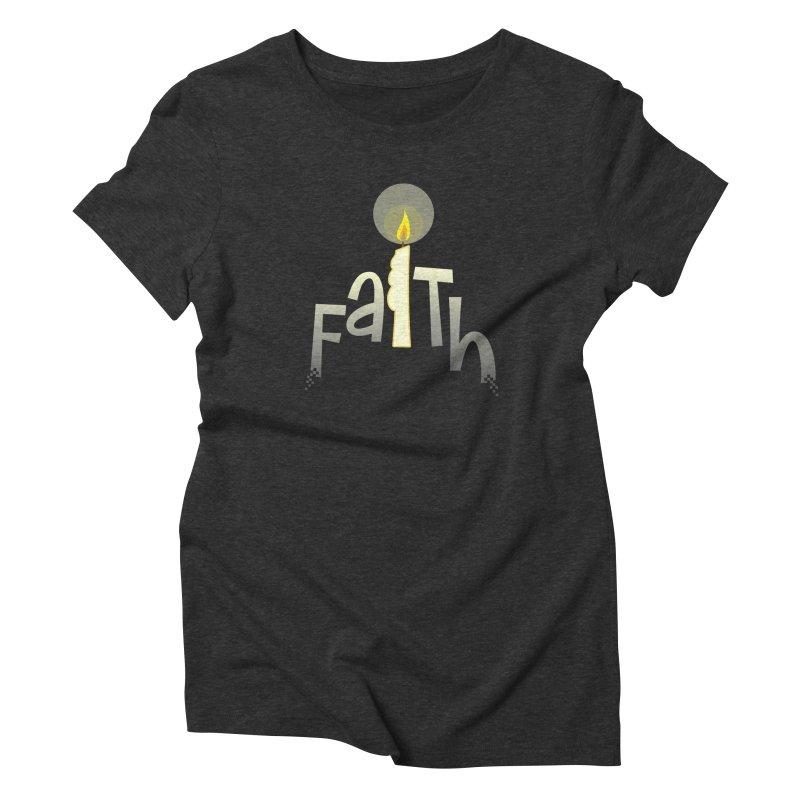 Faith Women's Triblend T-Shirt by PickaCS's Artist Shop