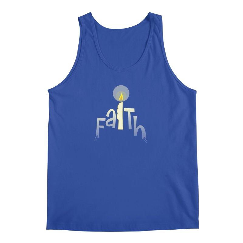 Faith Men's Regular Tank by PickaCS's Artist Shop