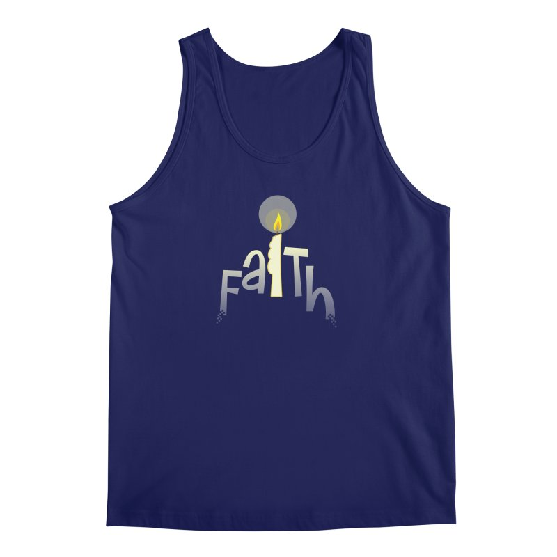 Faith Men's Regular Tank by PickaCS's Artist Shop