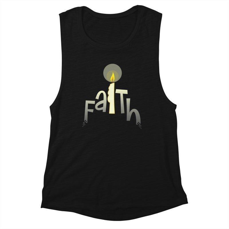 Faith Women's Muscle Tank by PickaCS's Artist Shop