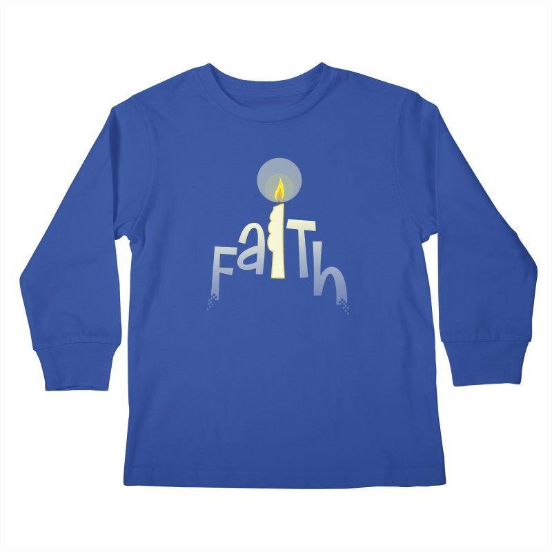 Faith Kids Longsleeve T-Shirt by PickaCS's Artist Shop