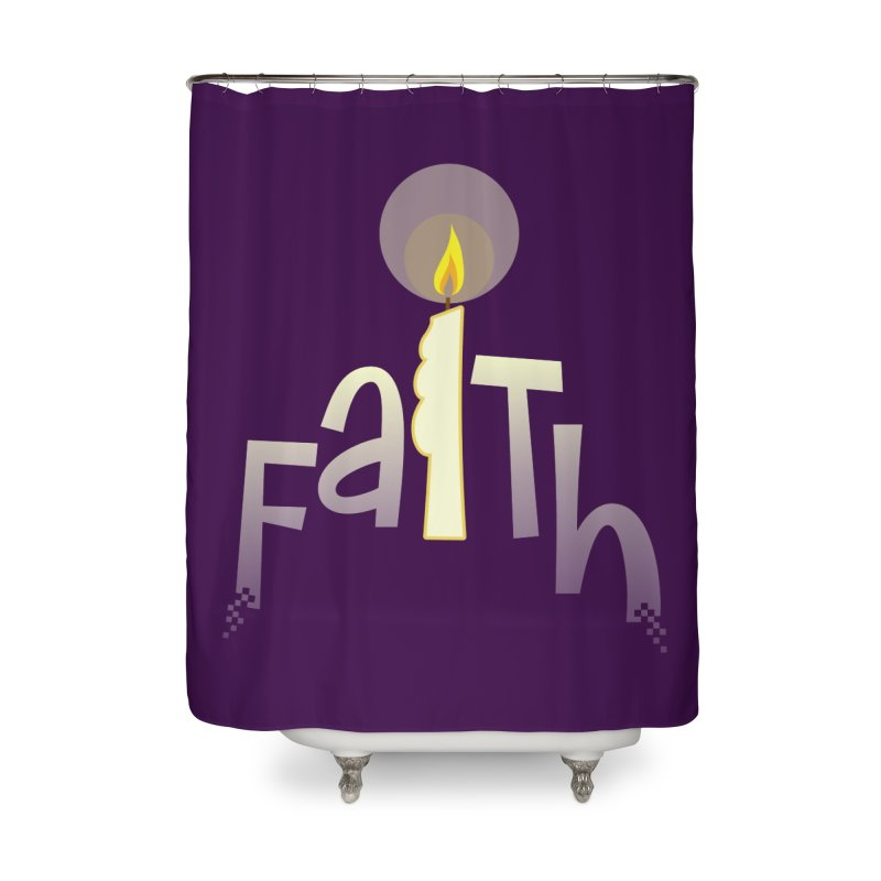 Faith Home Shower Curtain by PickaCS's Artist Shop