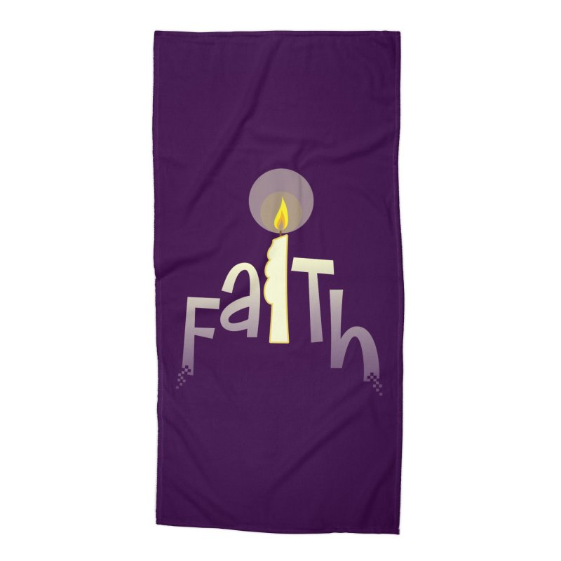 Faith Accessories Beach Towel by PickaCS's Artist Shop