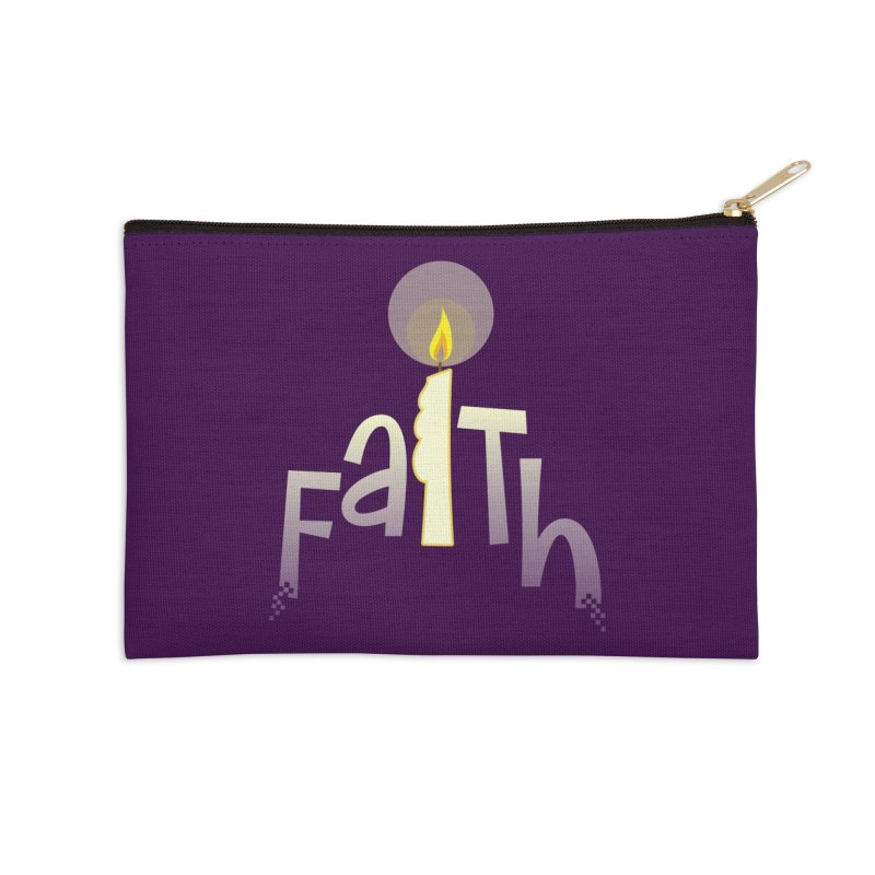 Faith Accessories Zip Pouch by PickaCS's Artist Shop