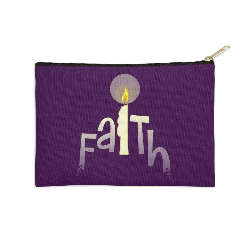 Faith Accessories Zip Pouch by PickaCS's Artist Shop