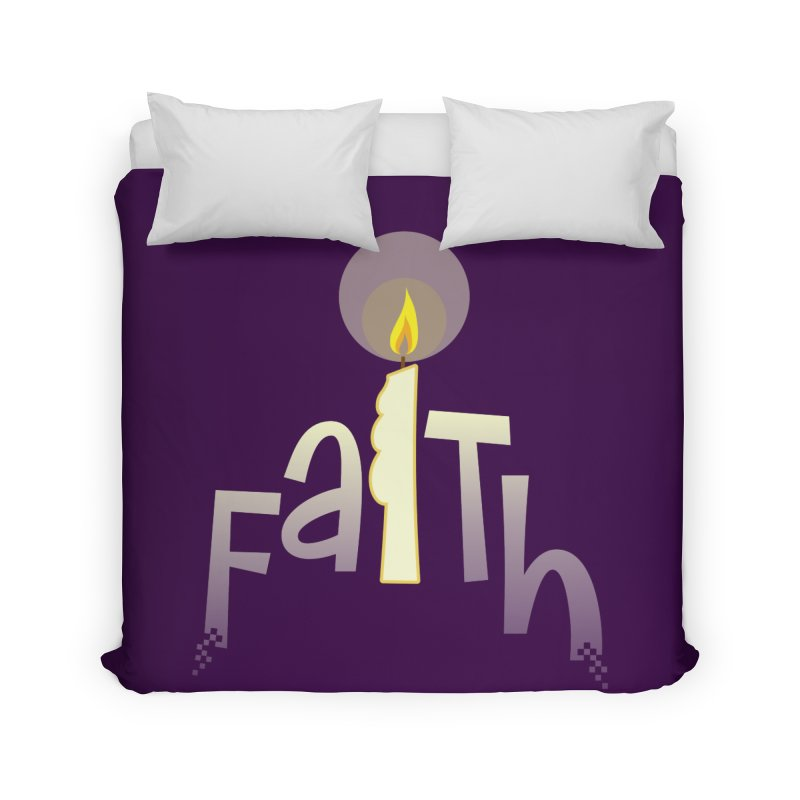Faith Home Duvet by PickaCS's Artist Shop