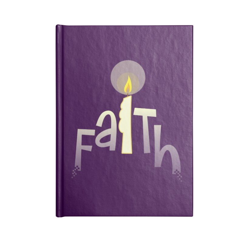 Faith Accessories Lined Journal Notebook by PickaCS's Artist Shop