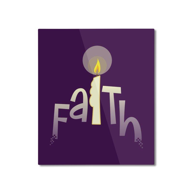 Faith Home Mounted Aluminum Print by PickaCS's Artist Shop