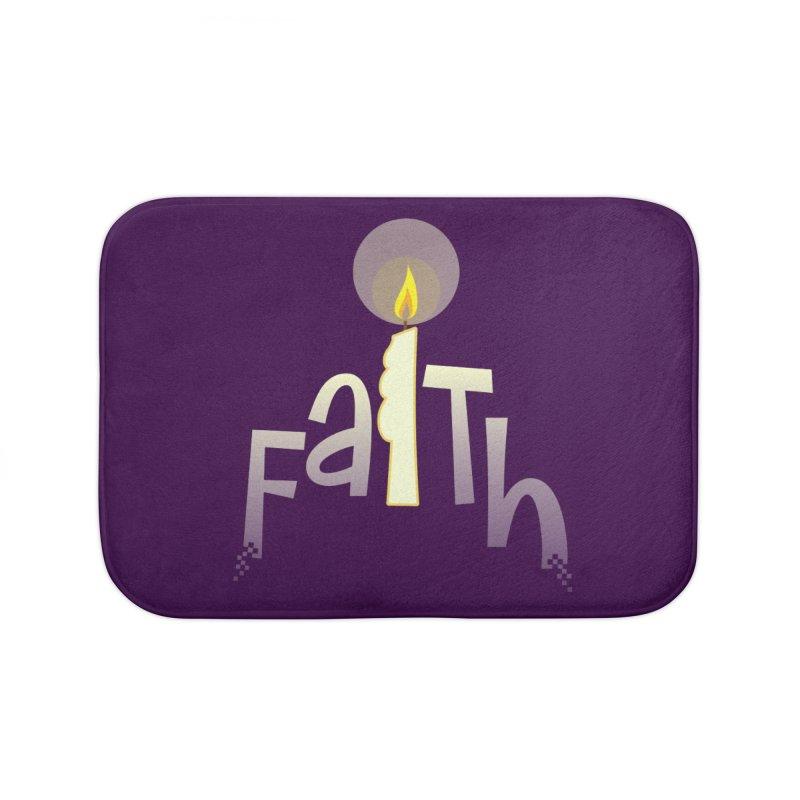 Faith Home Bath Mat by PickaCS's Artist Shop