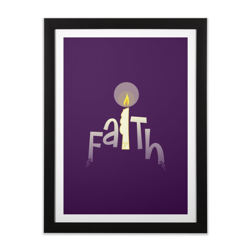 Faith Home Framed Fine Art Print by PickaCS's Artist Shop