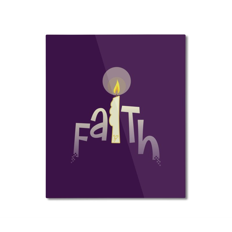 Faith Home Mounted Aluminum Print by PickaCS's Artist Shop