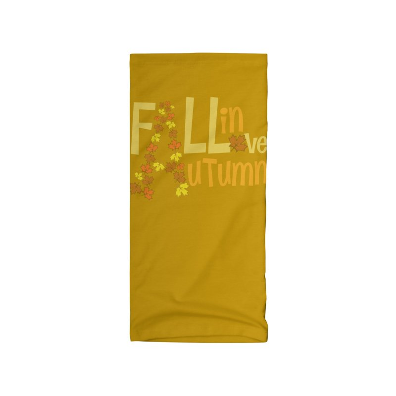 Fall in Autumn Accessories Neck Gaiter by PickaCS's Artist Shop