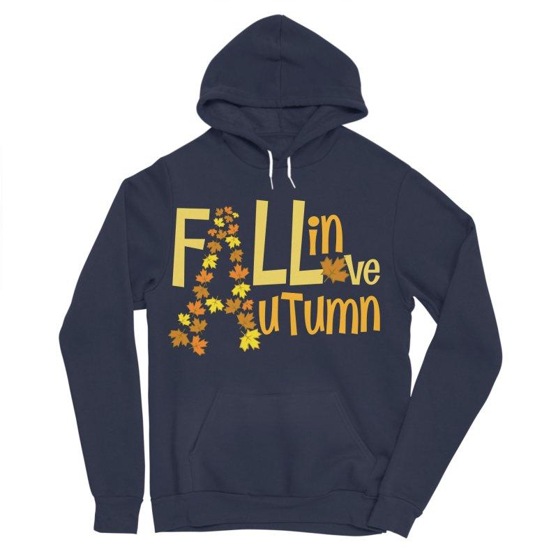 Fall in Autumn Men's Sponge Fleece Pullover Hoody by PickaCS's Artist Shop
