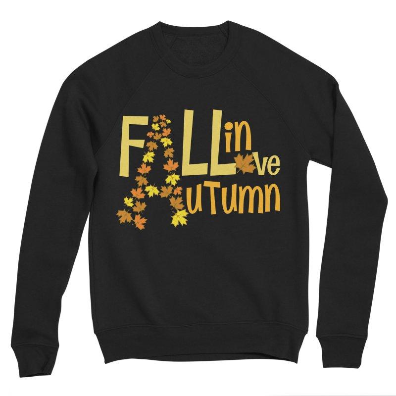 Fall in Autumn Men's Sponge Fleece Sweatshirt by PickaCS's Artist Shop