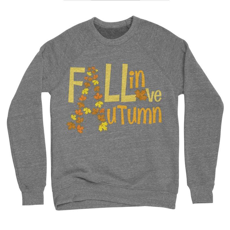 Fall in Autumn Women's Sponge Fleece Sweatshirt by PickaCS's Artist Shop
