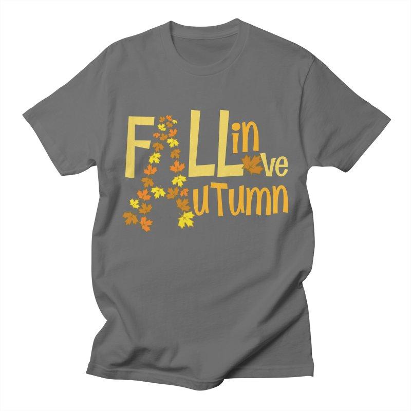 Fall in Autumn Men's T-Shirt by PickaCS's Artist Shop