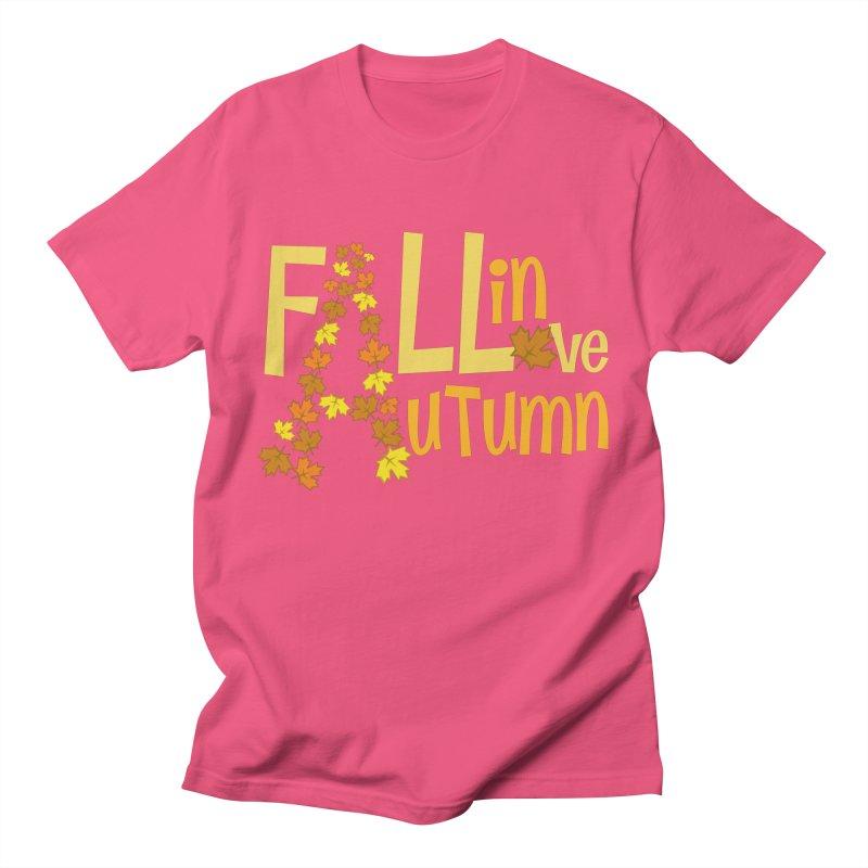Fall in Autumn Women's Regular Unisex T-Shirt by PickaCS's Artist Shop