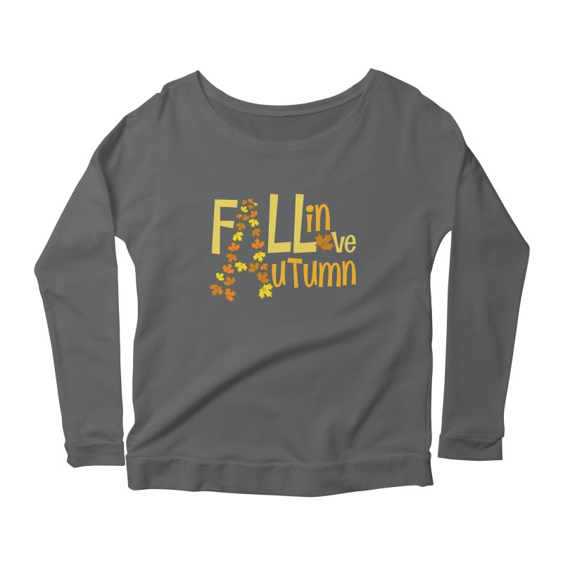 Fall in Autumn Women's Longsleeve T-Shirt by PickaCS's Artist Shop