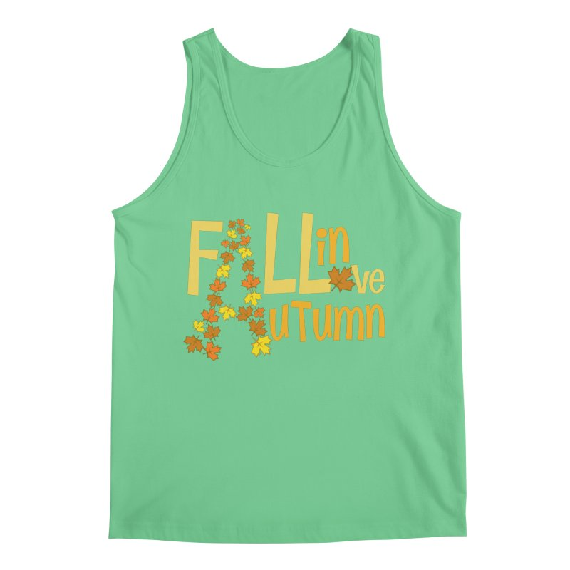 Fall in Autumn Men's Regular Tank by PickaCS's Artist Shop
