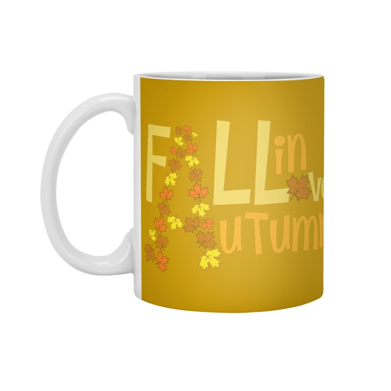Fall in Autumn Accessories Standard Mug by PickaCS's Artist Shop