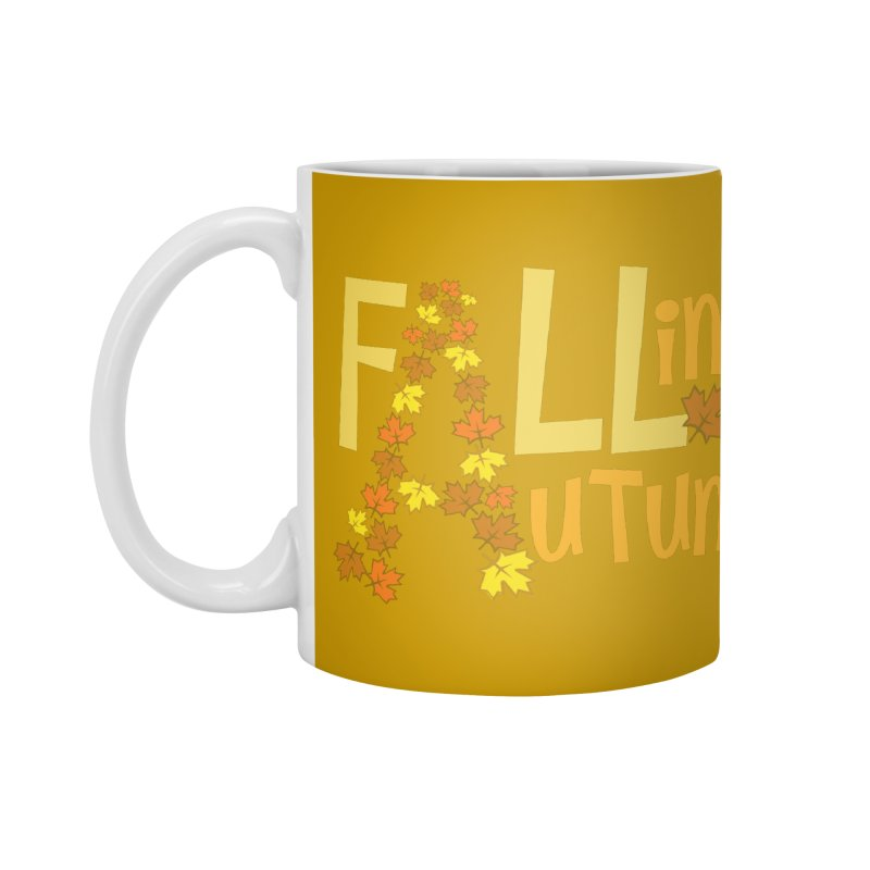 Fall in Autumn Accessories Mug by PickaCS's Artist Shop