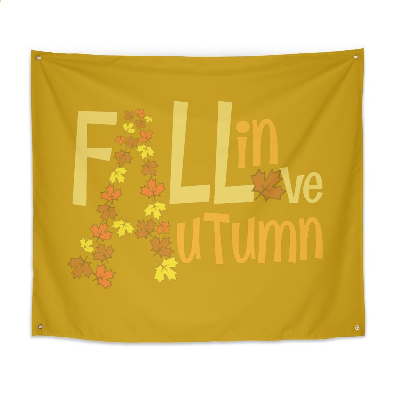 Fall in Autumn Home Tapestry by PickaCS's Artist Shop