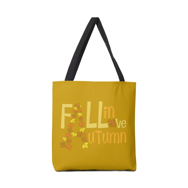 Fall in Autumn Accessories Tote Bag Bag by PickaCS's Artist Shop