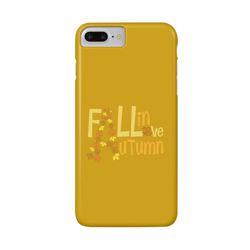 Fall in Autumn Accessories Phone Case by PickaCS's Artist Shop