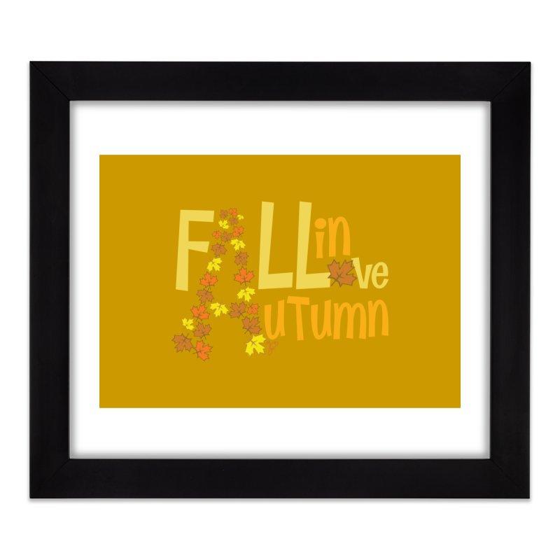 Fall in Autumn Home Framed Fine Art Print by PickaCS's Artist Shop