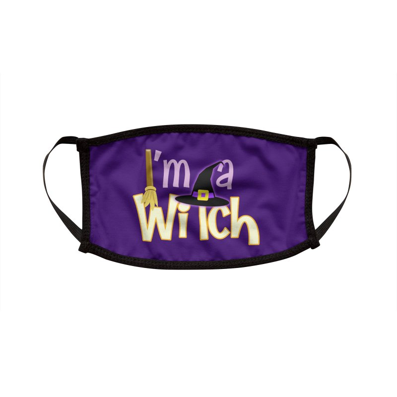 I'm a Witch! Accessories Face Mask by PickaCS's Artist Shop