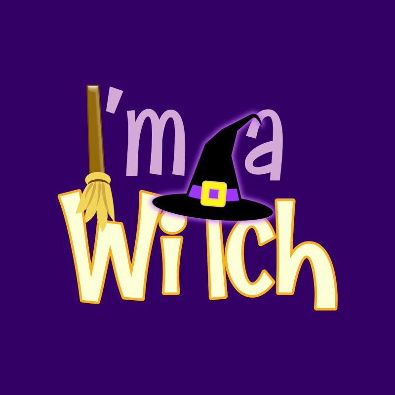 I'm a Witch! Women's Scoop Neck by PickaCS's Artist Shop