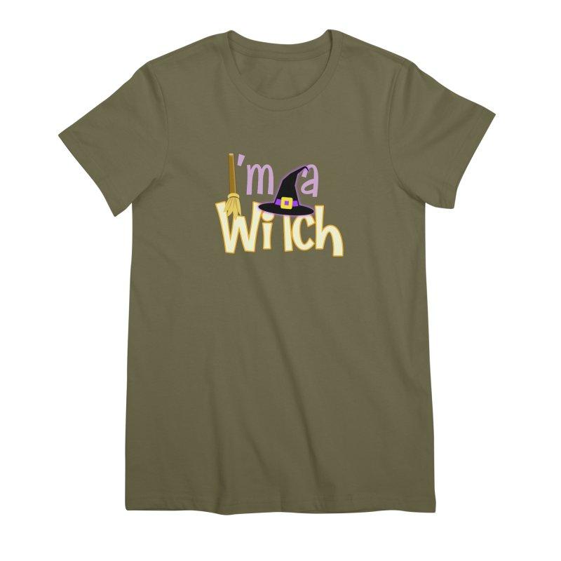 I'm a Witch! Women's Premium T-Shirt by PickaCS's Artist Shop