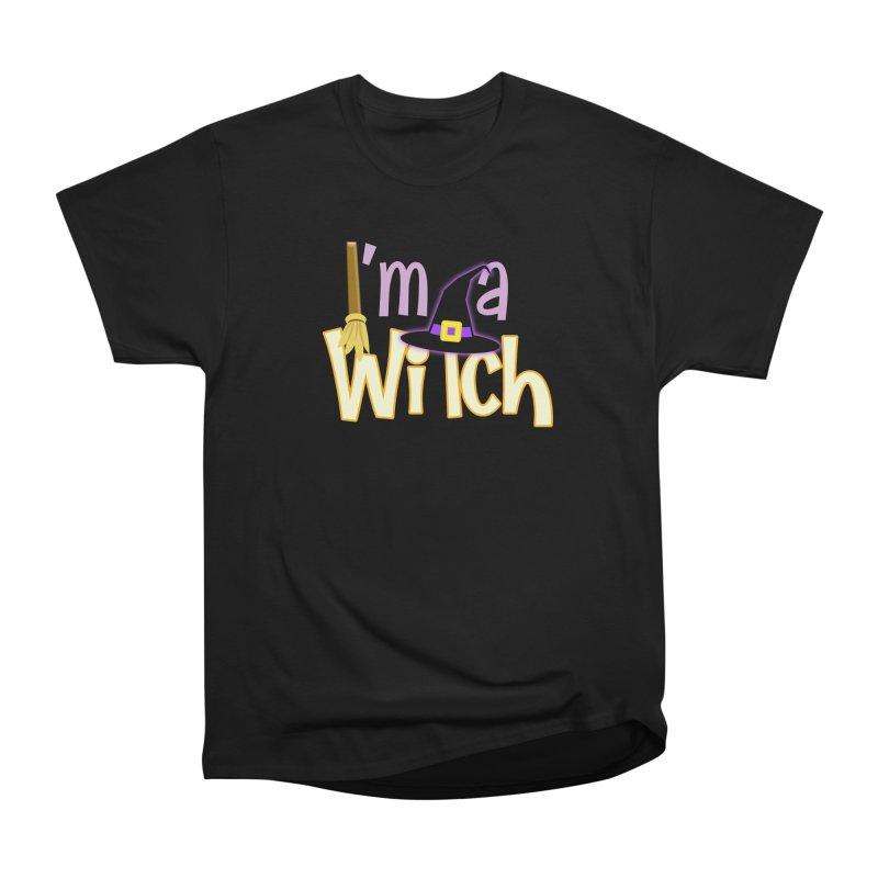 I'm a Witch! Women's Heavyweight Unisex T-Shirt by PickaCS's Artist Shop