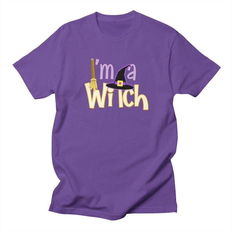 I'm a Witch! Women's Regular Unisex T-Shirt by PickaCS's Artist Shop