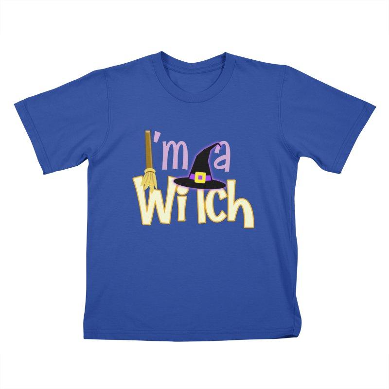 I'm a Witch! Kids T-Shirt by PickaCS's Artist Shop
