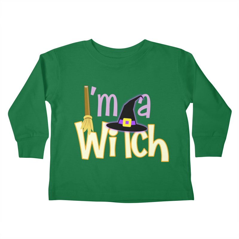 I'm a Witch! Kids Toddler Longsleeve T-Shirt by PickaCS's Artist Shop