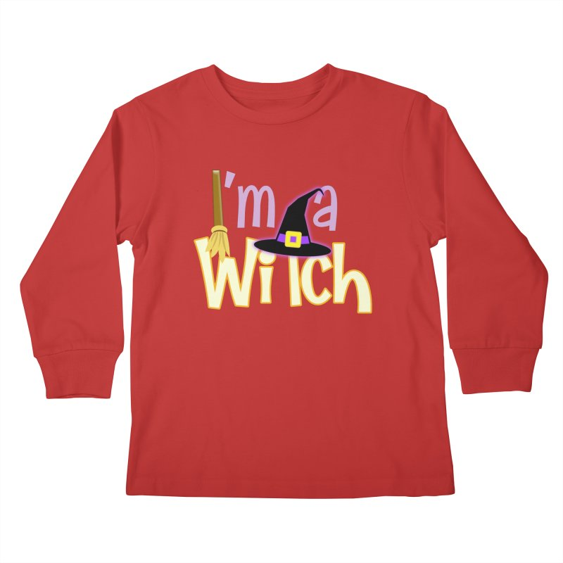 I'm a Witch! Kids Longsleeve T-Shirt by PickaCS's Artist Shop