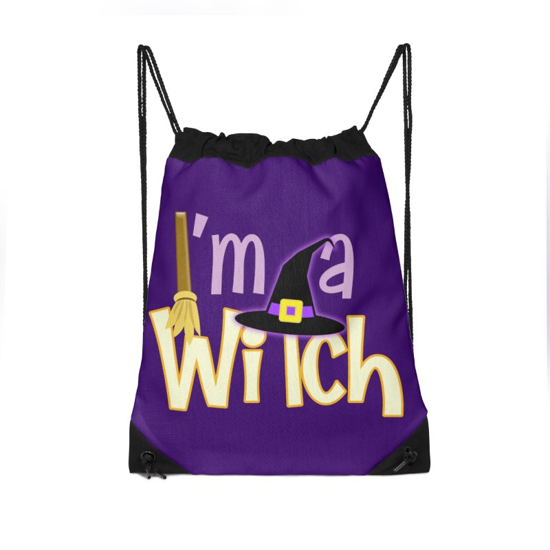 I'm a Witch! Accessories Drawstring Bag Bag by PickaCS's Artist Shop