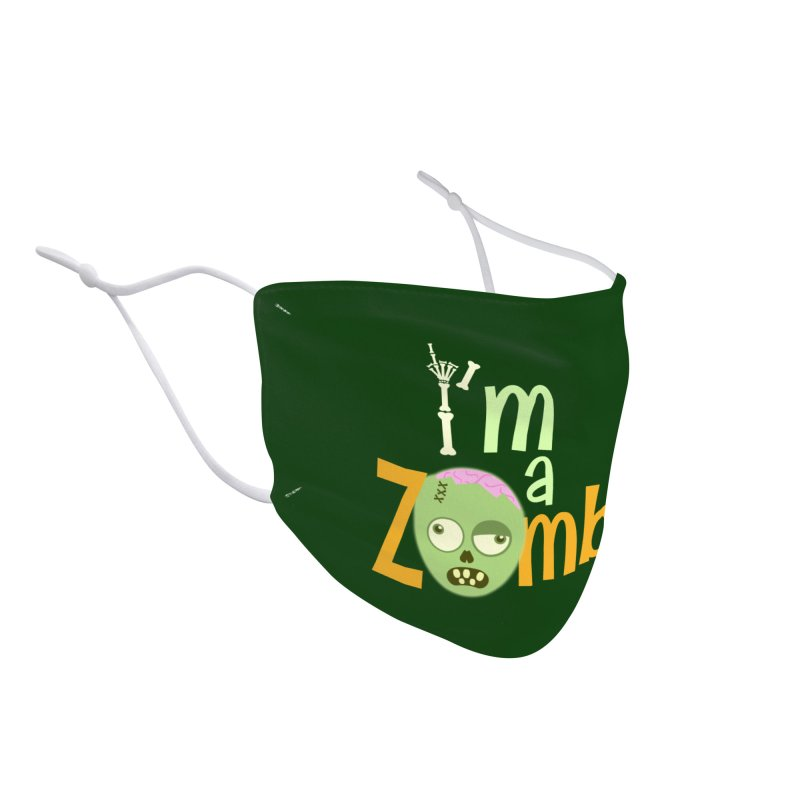 I'm a Zombie! Accessories Face Mask by PickaCS's Artist Shop