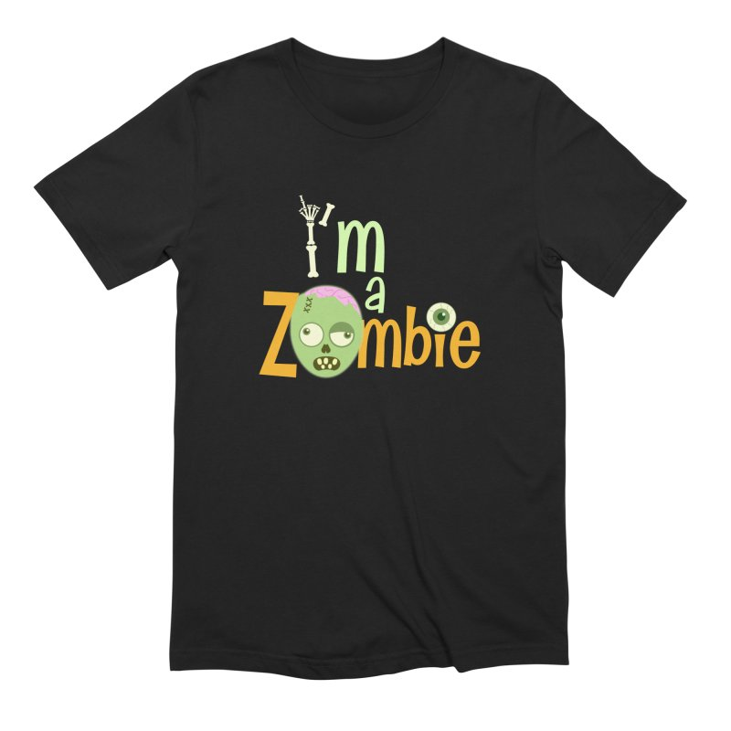 I'm a Zombie! Men's Extra Soft T-Shirt by PickaCS's Artist Shop