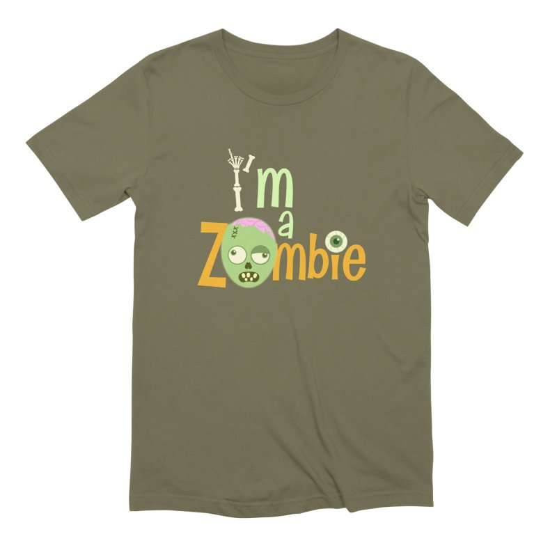I'm a Zombie! Men's Extra Soft T-Shirt by PickaCS's Artist Shop