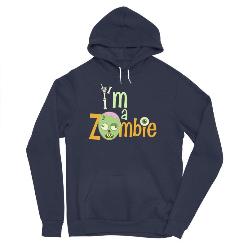I'm a Zombie! Men's Sponge Fleece Pullover Hoody by PickaCS's Artist Shop