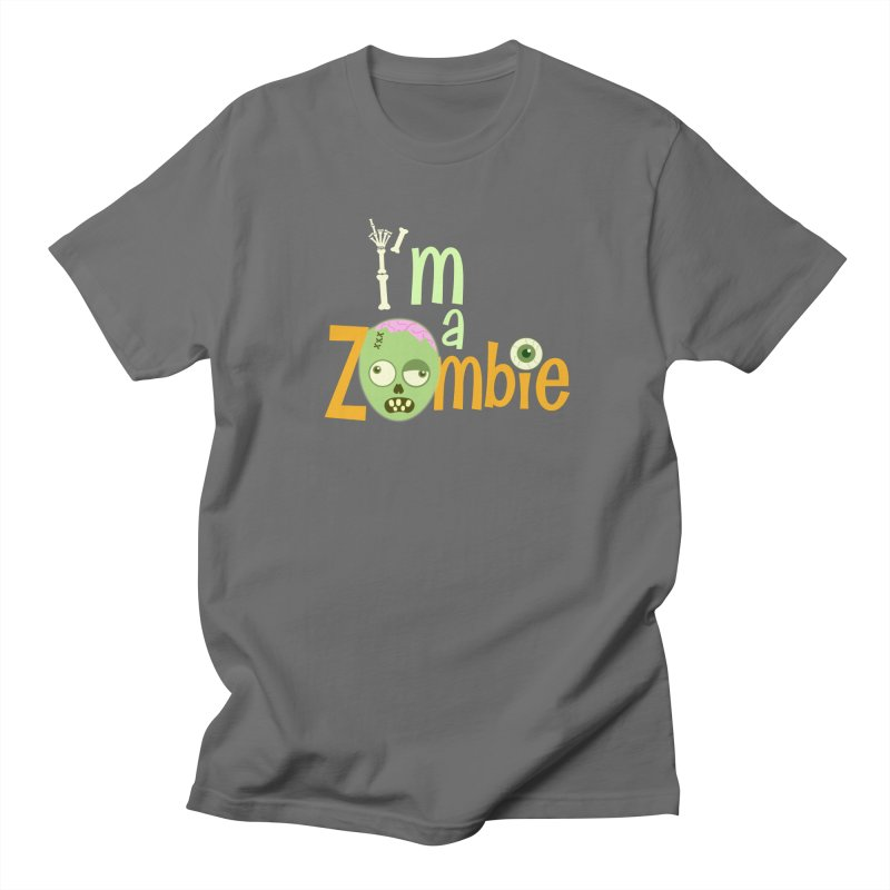 I'm a Zombie! Men's T-Shirt by PickaCS's Artist Shop
