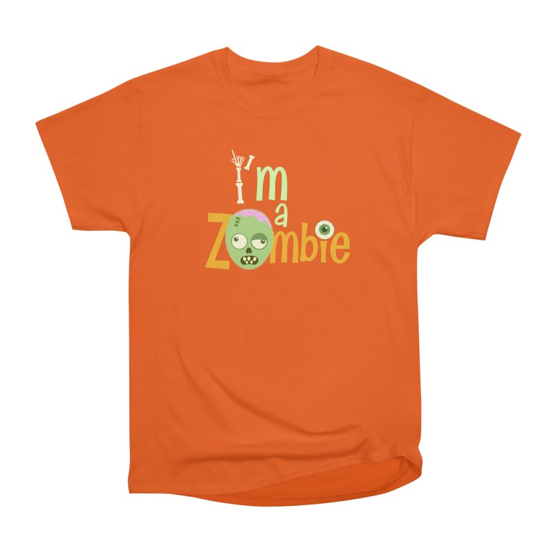 I'm a Zombie! Men's Heavyweight T-Shirt by PickaCS's Artist Shop